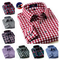 2014 Hot Sale !Superior Quality Men's Fitted Flannel Shirt/Free Shipping Desigual Men Shirt/Fashion Design Check Shirt for Male