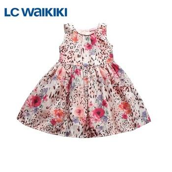 Christmas Girl's Dress Babi & Kids Dress with Character Pattern Sleeveless Denim Children Dresses 2014 Brand Clothing for Girls