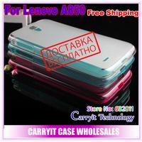 Lenovo A850 case, soft semitransparent matt case for Lenovo A850 case,  retail & wholesales, factory price, free shipping!
