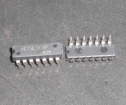 SN74LS04 логическая схема,