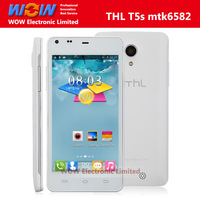 [Free Gift] Updated Cheap THL T5S Smartphone MTK6582 Quad Core Android 4.2 RAM 1G ROM 4G 3G 4.7 Inch IPS Screen support OTG