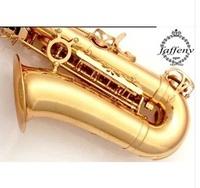 FREE SHIPPING EMS Senior French brand  Salma 54 b selmer tenor saxophone musical instrument electrophoresis gold professional