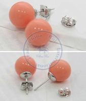 Stud Earrings ear rings Fashion for women Girl's lady sweet candy balls desgin CN post