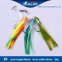 8 Kinds of Sabiki Rigs colorful multi shape Sabiki Rigs Fishing Lures