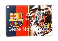 New fashion cool luxury Football Club Football Team flip folio stand pu leather case for ipad mini free shipping