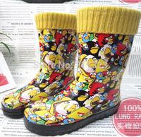 Free shipping 2014 New Classic Marine children rain boots baby rainboots wellies, winter waterproof rainboots