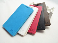 Free Shipping (20pcs/lot) Top Quality Simulation leather case for Huawei Y518 Phone case