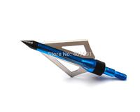 6pcs carbon arrow broadhead 100 grain 3 fixed blades 2'' cut arrowhead for bow and arrow archery target hunting