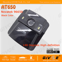 Novatek Portable AT650 Full HD Mini DVR Camera 1080P 30FPS With 2.4 Inch + 148 Degree + Support WDR + Night Vision + CPAM
