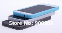 1pcs free shipping! 100% Original silicon case soft 2000mah battery Cover for Jiayu G5 smart phone TPU Case blue black white