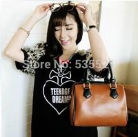 2015 Handbag Genuine Leather For Women Girl Lady Handbag Tote Shoulder Bag Fashion 100% Genuine Leather Bag New Arrival