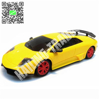 1:24 RC Car Remote Control Toys for Children Yellow Outdoor Fun For Children