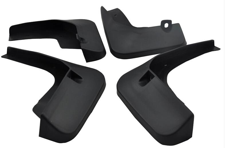 splash guards mud flaps fit for Toyota camry 2012 2013 Soft plastic 4pcs per set(China (Mainland))