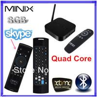 { Mele F10 Pro Air mouse Keyboard }+MINIX NEO X7 mini RK3188 Quad Core tv box android 4.2.2 media player XBMC TV Box 2GB RAM 8GB