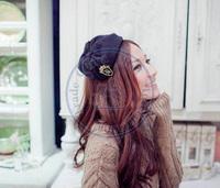 beanie feather bowknot Hairband tie hair hoop tools Maker forehead hair decoration head band CN post