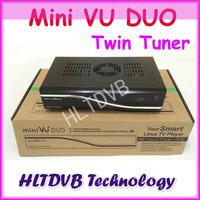 VU DUO MINI VU+DUO Twin Tuner Decoder Linux OS 405mhz Processor Support Original vu+ Software DHL Free Shipping