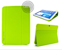 Luxury Original 1:1  Ultra Thin For Samsung Galaxy Tab 3 10.1 P5200 P5210 P5220 Tablet Flip Leather Book Case Cover 1PCS Free