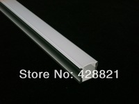 2 meters FREE shipping 1715 aluminium profile with FROSTED cover for width up to 12mm led strips kitchen cabinets LED lighting