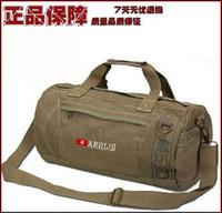 Free Shipping Aerlis male shoulder bag shoulder bag canvas bag drum vintage man bag outdoor cylindrical package