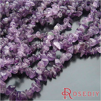 Free Shipping Wholesale Purple Natural Amethyst Gravel Diy Jewelry Findings Accessories a String of Beads 85-90cm(J-M4214)