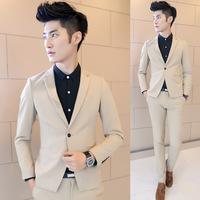 2014 new Autumn and winter men's blazer men slim solid color vintage classic style fashion design suits xz08 p140 blazer