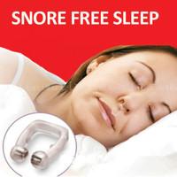 New Anti Snoring SNORE FREE NOSE CLIP stop sleep apnea aid guard night device cure