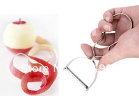 stainless peeler kitchen tool fruit peeler potato peeler zester 50pcs/lot