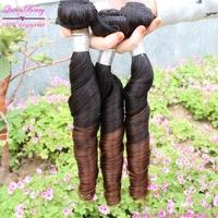 Xuchang queen berry origianl factory  virgin remi  ombre brazilian hair  3 pcs  eurasian spring curl wave on alibaba express
