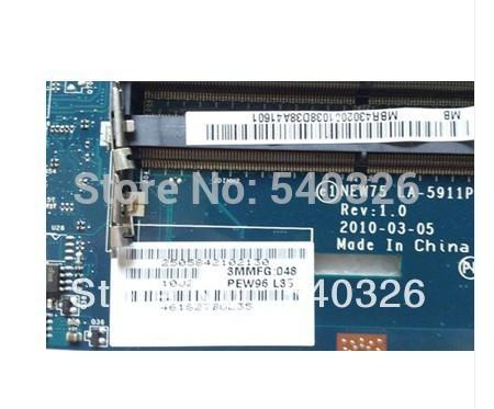 LA-5911P Laptop Motherboard for acer aspire 5251 5551 MBPUU02001 Tarjeta Madre AMD socket s1 ATI full Tested Free shipping(China (Mainland))