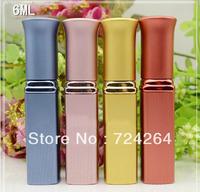 6ml cosmetic mini refillable bottles eau de toilette glass fragrance bottles sprayer  perfume vial atomizer 10pcs/lot 083356A
