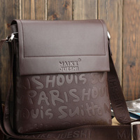 Free Shipping [2 Colors] 2014 Men Messenger Bags  Business Casual  Man Bag