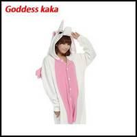 Couple animal Pajamas Costume onesies for Adult Cartoon Unicorn Animal Suits Cosplay flannel Sleepwear footed pajamas MD266