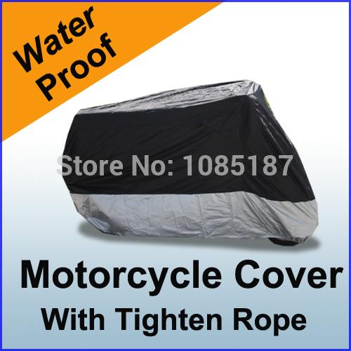 Free Shipping Waterproof Sport Bike Motorcycle Cover Fits Yamaha V-Star 650 DragStar 650 XVS650 XVS650A VMAX M3BS(China (Mainland))