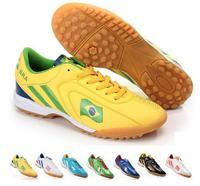 2014 World Cup men's indoor soccer shoes antiskid broken nail football training  indoor soccer shoes   boot football