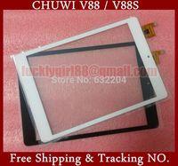 Original 7.85 inch Touch Screen,100% New CHUWI V88 / V88S MINI Tablet pc Touch Panel Digitizer White,Black HY 51042 Freeship