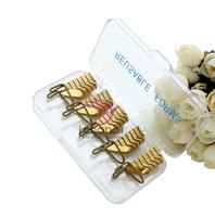 Golden 5PCS/Set Reusable Nail Forms UV Gel Acrylic French Tips Art Free Shipping Dropshipping