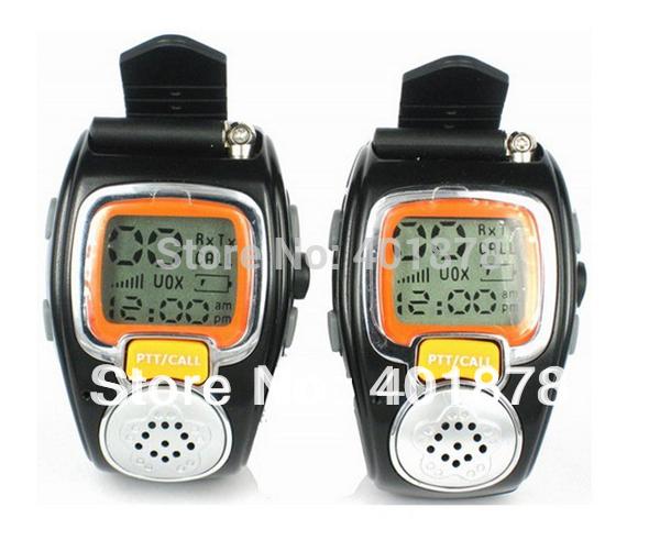Fashion wrist Watch Walkie talkie RD-008 Two Way Radio Built-in Microphone Free talker adjustable 10pc free ship(China (Mainland))
