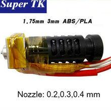 3D printer  J-head nozzle 0.4mm 0.3mm 0.2mm nozzle for 3mm 1.75mm filaments
