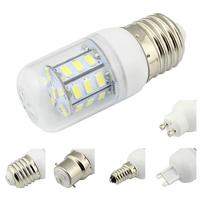 2014 NEW! E27 LEDS SMD5730 DOMESTICE ELETRICITY SAVING LIGHTING PVC COVER HIGH VOLTAGE 85-265V AC 220V 10 PCS/LOT FREE SHIPPING