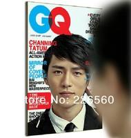 Free Shipping 1Piece Magazine Cover Mirror / Novelty Mirror Supermodel Mimicking Reflector