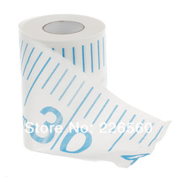 Free Shipping 2Pieces Measuring Tape Toilet Roll - Measuring Tape Toilet Paper Novelty Toilet Tissue