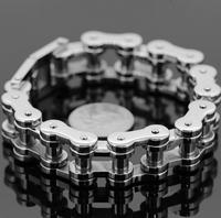 No min Order Guaranteed 100% Men Jewelry 316L Stainless Steel Motorcycle Bike Cuff Bangle Bracelet FREE SHIPPING