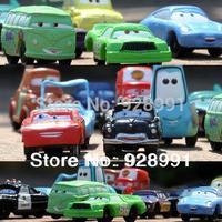 free shipping 14 pcs/set anime cartoon cars pixar mini models pvc figures dolls classic toys set for children boys kids