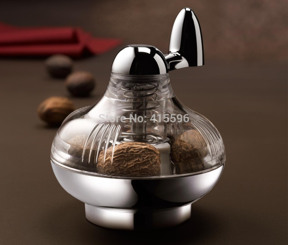 Germany Brand Nutmeg Grinder Spice Mill Manually Rotated Grinder Grinding Bottle + Free Shipping(China (Mainland))