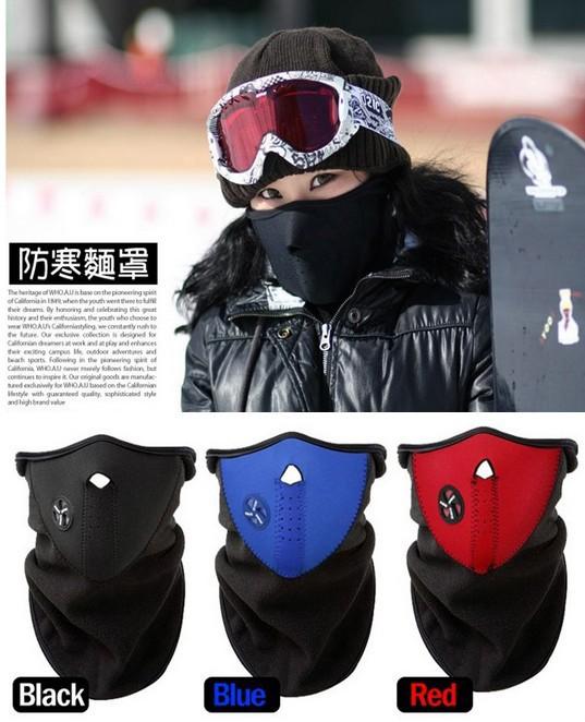 New Thermal Neck warmers Fleece Balaclavas CS Hat Headgear Winter Skiing Ear Windproof Warm Face Mask Motorcycle Bicycle Scarf(China (Mainland))