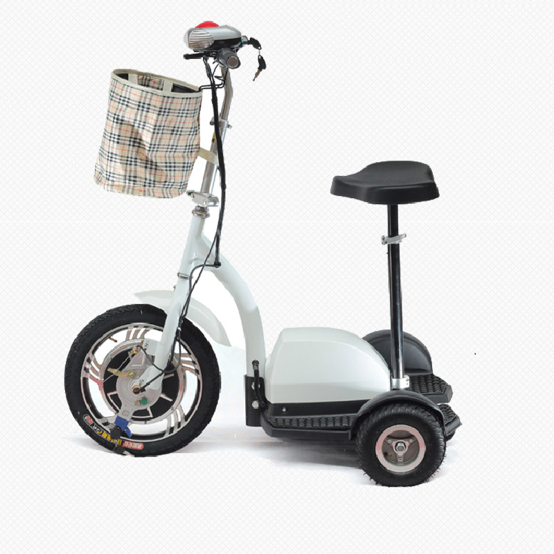 36v 350w Three Wheel Electric Scooter Motorized Scooter