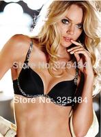 Glossy underwear memory comfortable sexy push up seamless bra set butt-lifting bra set