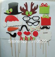 Wedding suppliesCreative wedding party photo paper beard prop Photos Funny mustache lips children glasses