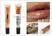 1 pcs Bob diamond lip gloss popular diamond bling golden send color 12#