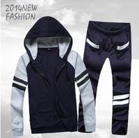 New arrival Men's Tracksuit Sweatsuit Sporty Hooded Hoodies Track Sweat Sport Suit Sweatshirt Sweat Pants Sweatpants Sweats